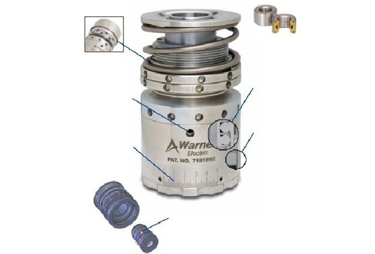 磁性压盖器